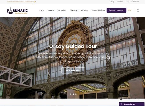 parismatic tour website seo