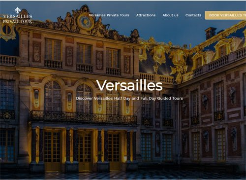 versaiilles tour website seo